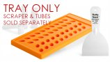 Lip Balm Filling Tray - Plastic - Oval