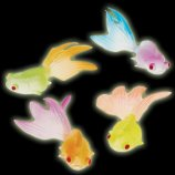 Embeddable Glow in the Dark Goldfish