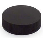 Black Ribbed Lid 38-400