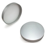 Silver Metal Smooth Lid 89-400